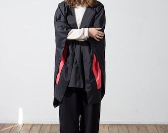 waterproof blanket cape with hood