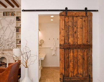 Custom Crafted Sliding Barn Door