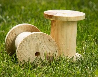 Wooden spools #1