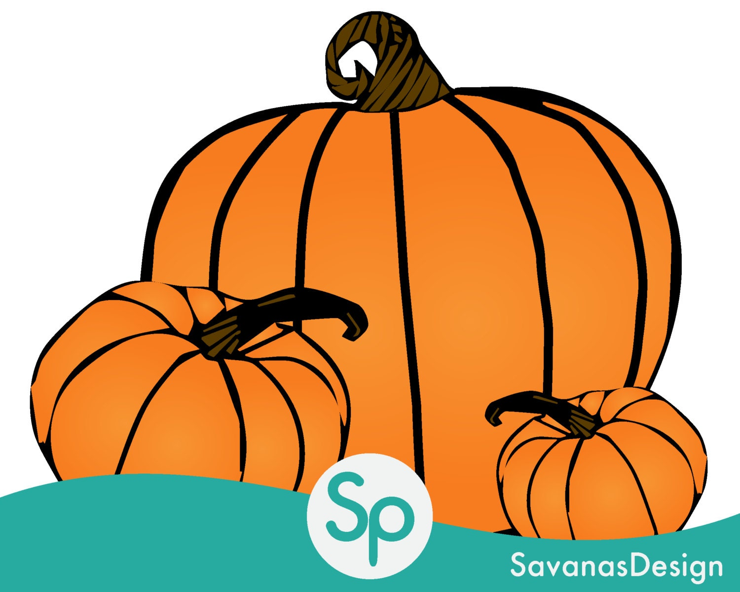 Pumpkin Clip Art Pumpkin Vector Pumpkin Decorating Pumpkin