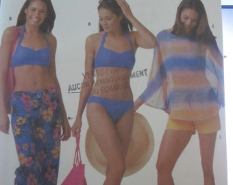 SIMPLICITY PATTERN 5103. For the beach, bikini, pants, beach, bath bag