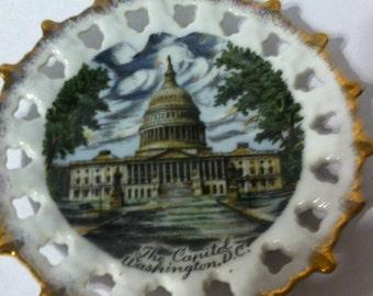 Vintage Washington DC Souvenir Ornament - Free Shipping!
