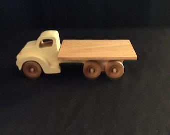 Truck, wooden truck, handmade truck