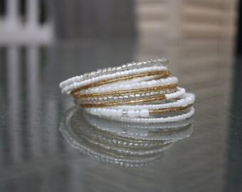Champagne Wrap Bracelet