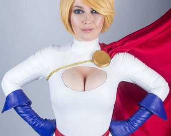 Power Girl DC Comics Cosplay Costume ready to ship