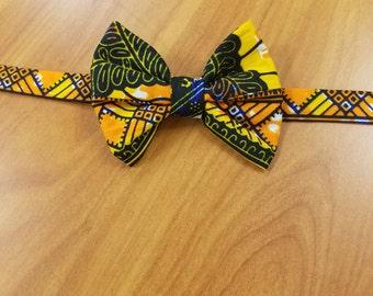Orange Blossom Boys' Bow Tie