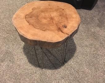 Modern Hard Wood Sidetable