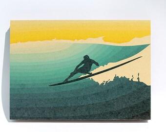 A4 cardboard paper print