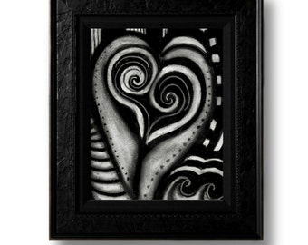 Heart Print 8.5x11