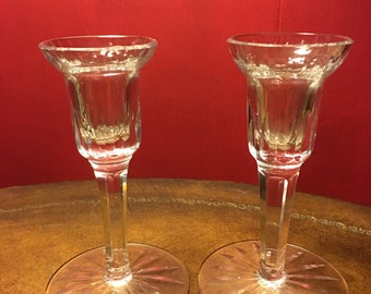 Waterford Candle Holders 6 Inch