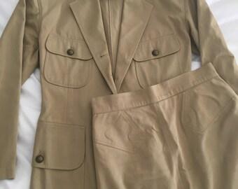 Vintage Azzedine Alaïa 80s Suit