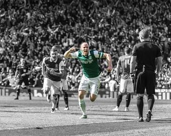 David Gray all in Green