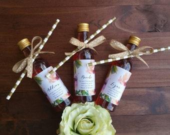 Mini Wine Labels | Bridesmaid Wine Labels | Bridesmaid Kit | Wedding Favor Kit