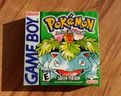 Pokemon Green nintendo Gameboy box only no game no manual featured image