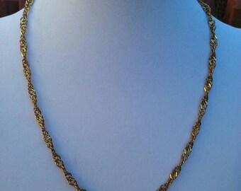 Vintage Gold Chain