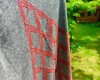 hot Himalayan cashmere scarf