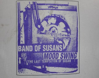 90s Band Of Susans Mood Swing T Shirt sonic youth my bloody valentine