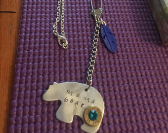 Mama Bear 38 special necklace