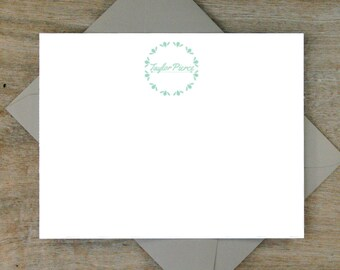 Personalizedcards, personalized notes, thank you cards, stationery set, stationary set, Cute Cards, cursive cards