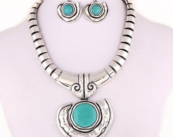 Turquiose Jewely Elegant Set