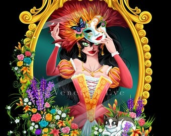 The Mask in the Mirror - Print
