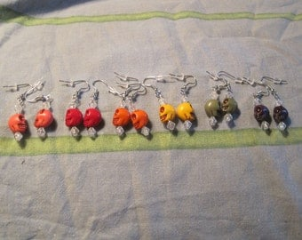 Day of the Dead earrings