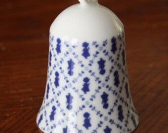 Holly Hobbie Petite Pattern Porcelain Bell