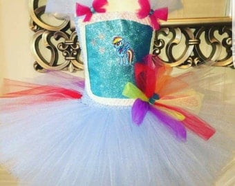 My little pony tutu