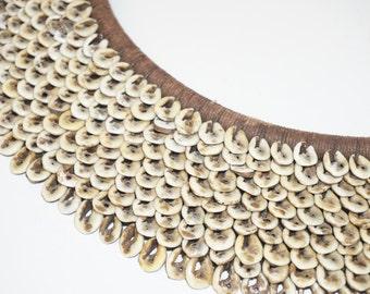 Handmade Indonesian Seashell Necklace