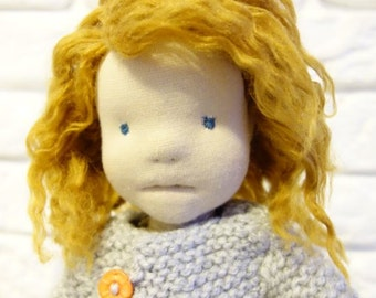 JULIET, Waldorf Doll, Waldorf inspired doll