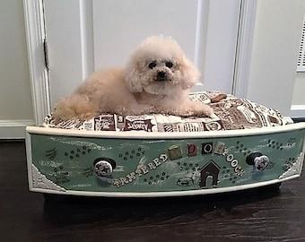 Shabby Chic Luxury Dog Bed