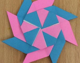 8-Point Transforming Origami Ninja Star