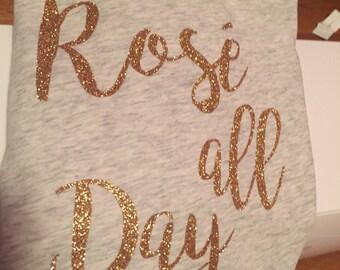 Rosè All Day T-Shirts/Tank Tops