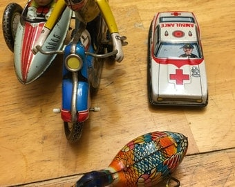 Tin Toy Collectibles