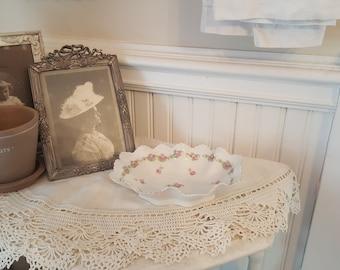 Antique porcelain candy dish