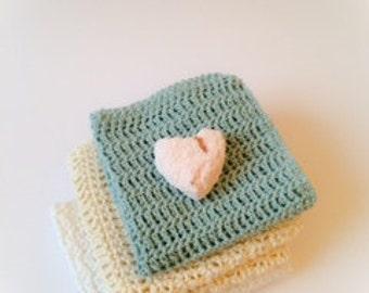 Cotton crochet Wash Cloth
