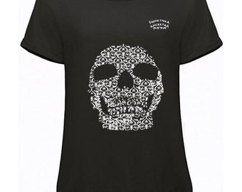 T-shirt Black Skull