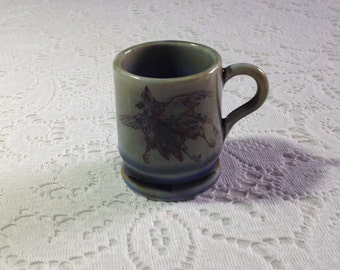 Vintage Wade Irish Porcelain minature/coffee cup with brace of pheasant design