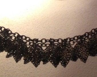 Vintage Filagree Leaf Bracelet