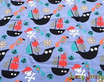 Pirate cotton jersey fabric