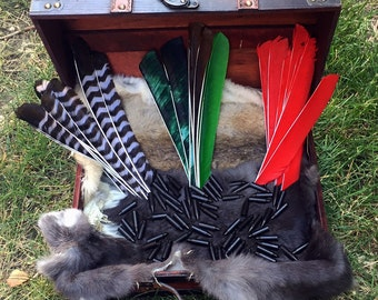 Create Your Own Traditional Archery Arrows full dozen or half dozen