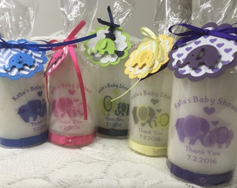 Baby Shower Favour Candles