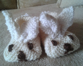 Rabbit baby slippers