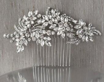 Crystal Bridal Hair Comb #120651