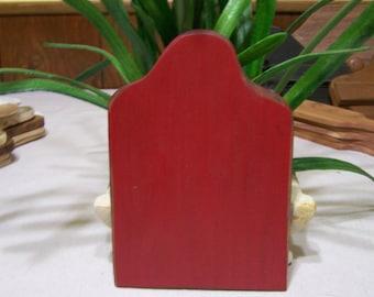 Primitive Colonial Red Board
