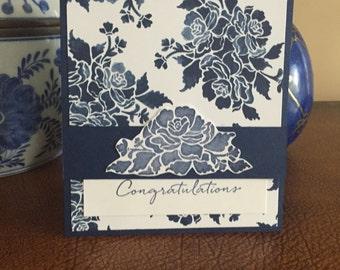 Antique Blue Flower Buds