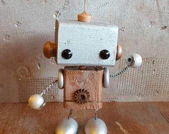 J.O.S.H. Wooden Robot