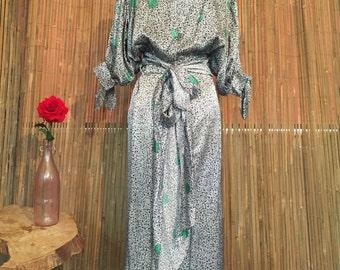 Silk Blouse and skirt set