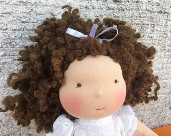 Little Girl Waldorf Doll organic natural