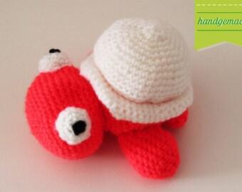 "Crochet toy Amigurumi ""Karla"" turtle"